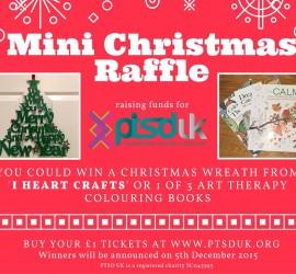 Mini Christmas Raffle ptsd uk