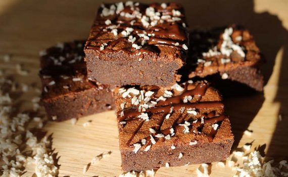 Almond Flour Coconut Oil Keto Brownies