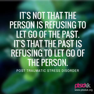 PTSDit's not that the person is refusing to let go