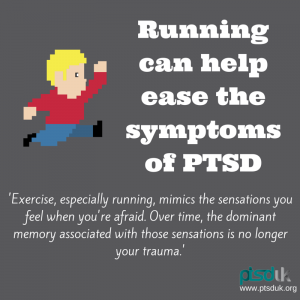 Running can help ease symptoms of ptsd